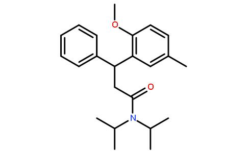 3-苯丙胺; n,n-二异丙基-3-(2-甲氧基-5-甲基苯基)-3-苯基丙酰胺