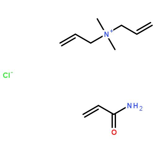 二甲基二丙烯基氯化铵-丙烯酰胺共聚物