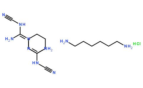 聚(六亚甲基双氰基胍-六亚甲基二胺)盐酸盐