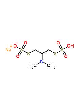 2-二甲氨基-1,3-丙二基-雙-硫代硫酸酯單鈉鹽