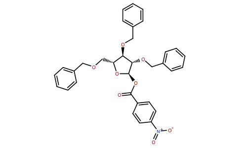 235三o苯基1o(4硝基苯甲酰)d阿拉伯呋喃糖