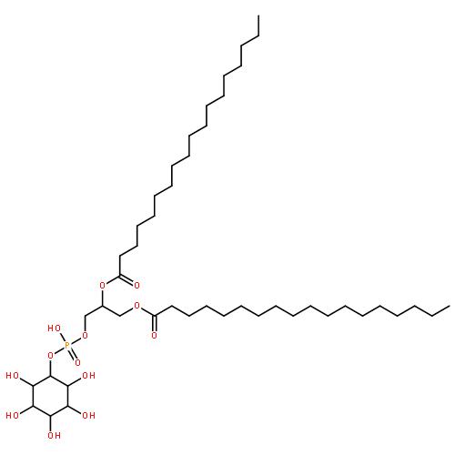 甘油-3-磷酸基-(1-d-myo-肌醇);l-Α-磷脂酰肌醇 来源于大豆 分子式