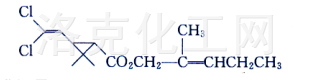 2-methyl-penten-2-yl-(1R,S)-trans-2,2-dimethyl-3-(2,2-dichlorovinyl)cyclopanecarboxy late;