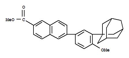 6-[3-(1-金刚烷基)-4-甲氧基苯基]-2-萘甲酸甲酯