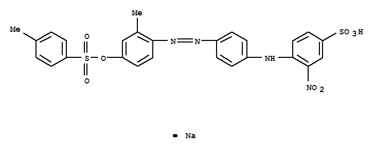 Benzenesulfonic acid,4-[[4-[2-[2-methyl-4-[[(4-methylphenyl)sulfonyl]oxy]phenyl]diazenyl]phenyl]amino]-3-nitro-,sodium salt (1:1);Benzenesulfonicacid,4-[[4-[[2-methyl-4-[[(4-methylphenyl)sulfonyl]oxy]phenyl]azo]phenyl]amino]-3-nitro-,monosodium salt (9CI);C.I. Acid Orange 67 (8CI);Acid Orange 3R;Acid Orange67;Acid Orange ARG;Acid Polyamide Yellow 5K;Acid Yellow RXL;Apollo NylonFast Yellow 3RL;Best Acid Yellow N 3R;C.I. 14172;Concorde Acid Yellow N 3RL;Covanyl Orange F 3R;Daedo Acid Orange 3RL;Daedo Acid Yellow N 3RL;DycosweakAcid Orange RXL;Erionyl Yellow A-R;Erionyl Yellow RXL;Eriosin Fast YellowRXL;Euramina Orange 3RL;Everacid Yellow 3RL;Kayanol Yellow N 3R;KenamideOrange KCG;Lerui Acid Yellow RXL;Neutral Yellow RX;Nylosan Yellow N-3RL;Rifa Acid Yellow N 3RL;Sandolan Golden Yellow MF-RL;Sulfonine Yellow 3R;Triacid Fast Milling Yellow 3RL;