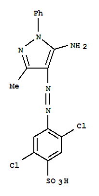 酸性黄49;Benzenesulfonic acid,4-[2-(5-amino-3-methyl-1-phenyl-1H-pyrazol-4-yl)diazenyl]-2,5-dichloro-;Benzenesulfonicacid, 4-[(5-amino-3-methyl-1-phenyl-1H-pyrazol-4-yl)azo]-2,5-dichloro- (9CI);C.I. Acid Yellow 49 (8CI);Acid Fast Yellow NFG;Acid Yellow 49;Acid YellowGR;Ambinyl Yellow L 4G;Apollo Nylon Fast Yellow FGL;Atanyl Yellow 4NGL;BestAcid Yellow NFG;C.I. 18640;Concorde Acid Yellow NFG;Covanyl Yellow FG;DaedoAcid Yellow FGL;Derma Fur Yellow 3G200;Egacid Yellow GR;Eurocen Yellow GR;Everacid Yellow 4NGL;Everacid Yellow NFG;Fabracid Yellow S 9G;HispacidYellow GRL;Hispalon Yellow B-GRL;Kayanol Yellow NFG;Kenamide Yellow KFGL;Multacid Yellow GR;Nylanthrene Brilliant Yellow 4NGL;Nylosan Yellow E 4G;Rifa Acid Fast Yellow E-FGL;Supracen Yellow GR;Supracen Yellow GR 200;TelonLight Yellow FG;Telon Yellow FGL;Triacid Fast Yellow 4GL;Vilmacid FastYellow E 4GK;Weak Acid Yellow GR;
