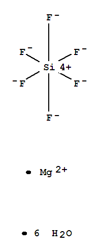 Silicate(2-),hexafluoro-, magnesium (1:1), hexahydrate (9CI);Silicate(2-),hexafluoro-, magnesium, hexahydrate (8CI); Magnesium fluorosilicate (MgSiF6),hexahydrate; Magnesium hexafluorosilicate (MgSiF6) hexahydrate; Magnesiumhexafluorosilicate hexahydrate; Magnesium hexafluorosilicate(2-) hexahydrate;Magnesium silicon hexafluoride hexahydrate;六水合六氟硅酸镁;
