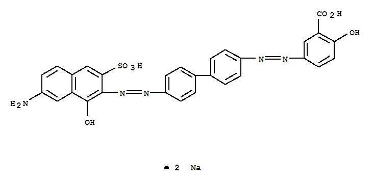 (直接棕2) 的分子结构
