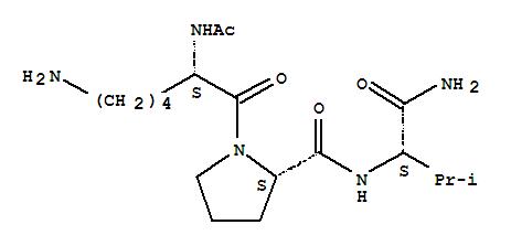 () 的分子结构