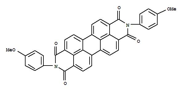 还原大红R(;Anthra[2,1,9-def:6,5,10-d'e'f']diisoquinoline-1,3,8,10(2H,9H)-tetrone,2,9-bis(4-methoxyphenyl)-;2,9-Bis[4-methoxyphenyl)anthra[2,1,9-def:6,5,10-d'e'f']diisoquinoline-1,3,8,10(2H,9H-tetrone;C.I. 71140; C.I. Pigment Red 190; C.I. Vat Red 29; Carbanthrene Scarlet R; FastRed H 888-0787; Fenanthren Scarlet R; Indanthren Scarlet R; Indanthrene ScarletRA; Indofast Brilliant Scarlet R 6500;N,N'-Bis(p-methoxyphenyl)perylene-3,4,9,10-tetracarboxylic diimide; PeryleneRed; Perylene Scarlet; Perylenetetracarboxylic acid di-p-anisidide; Pigment Red190; Reduced Scarlet R; Sumitone Fast Red 3BR; Supandai PLR-FC 222; Vat Red 29;Vat Scarlet R;颜料红 190;颜料红190;还原红 R;