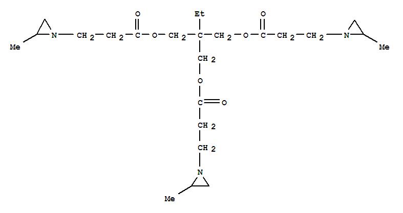 1-Aziridinepropanoicacid, 2-methyl-,1,1'-[2-ethyl-2-[[3-(2-methyl-1-aziridinyl)-1-oxopropoxy]methyl]-1,3-propanediyl]ester