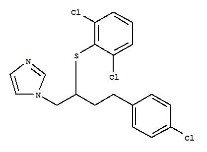 1H-Imidazole,1-[4-(4-chlorophenyl)-2-[(2,6-dichlorophenyl)thio]butyl]-;1H-Imidazole,1-[4-(4-chlorophenyl)-2-[(2,6-dichlorophenyl)thio]butyl]-, (?à)-; Butaconazole; Butoconazole;