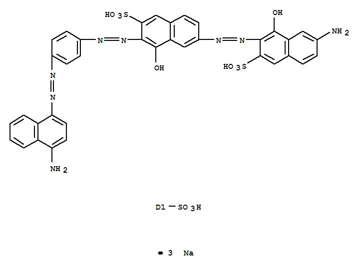 直接黑OB;2-Naphthalenesulfonicacid,6-[2-(7-amino-1-hydroxy-3-sulfo-2-naphthalenyl)diazenyl]-3-[2-[4-[2-[4-amino-6(or7)-sulfo-1-naphthalenyl]diazenyl]phenyl]diazenyl]-4-hydroxy-, sodium salt (1:3);2-Naphthalenesulfonicacid, 6-[(7-amino-1-hydroxy-3-sulfo-2-naphthalenyl)azo]-3-[[4-[[4-amino-6(or7)-sulfo-1-naphthalenyl]azo]phenyl]azo]-4-hydroxy-, trisodium salt (9CI); C.I.Direct Black 80 (8CI); C.I. 31600; Phenazo Black OB;直接黑80;直接黑 OB;
