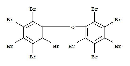 十溴二苯醚;Decabromobiphenyl ether;十溴联苯醚;Ether,bis(pentabromophenyl) (7CI,8CI);102(E);2,2',3,3',4,4',5,5',6,6'-Decabromodiphenyl ether;AFR 1021;Adine 505;BDE 209;BR 55N;Berkflam B 10E;Bis(pentabromophenyl) ether;Bromkal 81;Bromkal82-0DE;Bromkal 83-10DE;Caliban F/R-P 39P;DB 10;DB 101;DB 102;DE 83;DE83R;DP 10F;Decabrom;十溴联苯醚(进口);十溴联苯醚(国产);