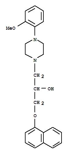 萘哌地尔;1-Piperazineethanol,4-(2-methoxyphenyl)-a-[(1-naphthalenyloxy)methyl]-;萘哌地尔;(?à)-Naftopidil;3-[4-(2-Methoxyphenyl)piperazinyl]-1-naphthyloxypropan-2-ol; Flivas;KT 611; Naftopidil; Naftopil;萘哌地尔;萘哌地尔原料;盐酸萘哌地尔;奈哌地尔;萘派地尔;荼哌地尔;萘哌地尔|盐酸萘哌地尔;