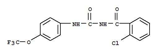 杀铃脲;Benzamide,2-chloro-N-[[[4-(trifluoromethoxy)phenyl]amino]carbonyl]-;1-(2-Chlorobenzoyl)-3-[4-(trifluoromethoxy)phenyl]urea;Alsystin; Alsystine; BAY-SIR 8514; BAY-Vi 7533; Baycidal;N-(2-Chlorobenzoyl)-N'-[4-(trifluoromethoxy)phenyl]urea; OMS 2015; SIR 8514;Starycide; Triflumuron; Trifluron;杀铃脲;杀虫脲;