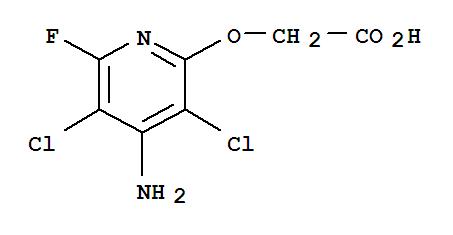 Aceticacid, 2-[(4-amino-3,5-dichloro-6-fluoro-2-pyridinyl)oxy]-;Aceticacid, [(4-amino-3,5-dichloro-6-fluoro-2-pyridinyl)oxy]- (9CI); EF 689;Fluroxypyr; [(4-Amino-3,5-dichloro-6-fluoro-2-pyridyl)oxy]acetic acid;氯氟吡氧乙酸;氟草烟;[(4-氨基-3,5-二氯-6-氟吡啶-2-基)氧基]乙酸;氟草烟/氯氟呲氧乙酸;