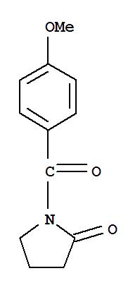 2-Pyrrolidinone,1-(4-methoxybenzoyl)-