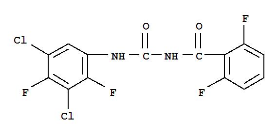 伏虫隆;Benzamide,N-[[(3,5-dichloro-2,4-difluorophenyl)amino]carbonyl]-2,6-difluoro-;AC291898; CME 134; CME 134-01; CME 13406; Calicide; Ektobann; HOE 522; MK 139; Nomolt;Nomolt agro; OMS 3009; Teflubenzuron; Tefluron;氟苯脲;伏虫脲/氟苯脲;伏虫隆伏虫隆;