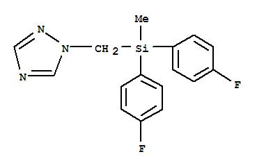 1H-1,2,4-Triazole,1-[[bis(4-fluorophenyl)methylsilyl]methyl]-;Olymp;Olymp 10EX;Punch;Punch (pesticide);Punch40EC;Punch Bis;Sanction;Benocarp;Cane Strike;Capitan;Cursor;DPD 78710F;DPX-H 6573;DPX-N 6573;Flusilazol;Flusilazole;Lyric;Nustar;氟硅唑;福星;氟硅唑原药;氟硅唑原料;氟硅唑  福星;氟硅唑,福星;克菌星;