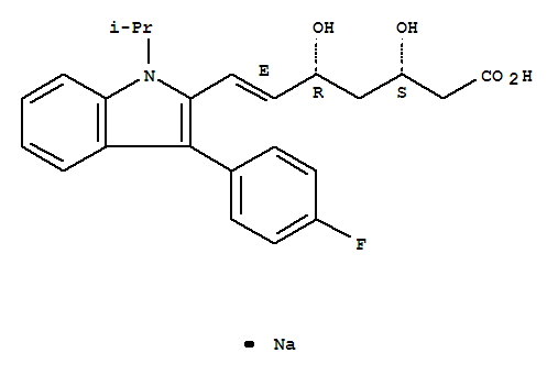 氟伐他汀钠