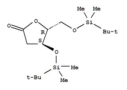 3,5-二-O-(叔丁基二甲基硅基)-2-脱氧-D-核糖酸-1,4-内酯