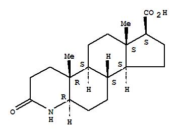 3-酮-4-氮杂-5a-雄烷-17b-羧酸; 4-氮杂-5a-雄甾-3-酮-17b-羧酸