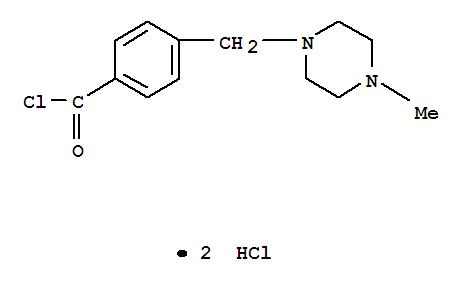4-(4-甲基哌嗪甲基)苯甲酰氯二盐酸盐