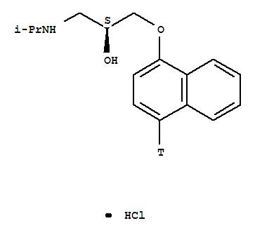 盐酸盐) 的分子结构