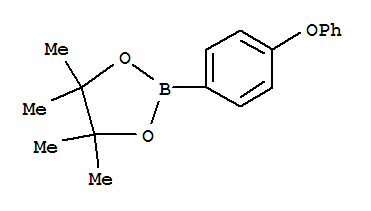1,3,2-Dioxaborolane,4,4,5,5-tetramethyl-2-(4-phenoxyphenyl)-