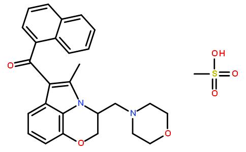 WIN 55,212-2甲磺酸盐