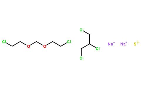 1,2,3-三氯丙烷与1,1-[亚甲基双(氧代)]双(2-氯乙烷)和还原硫化钠的聚合物